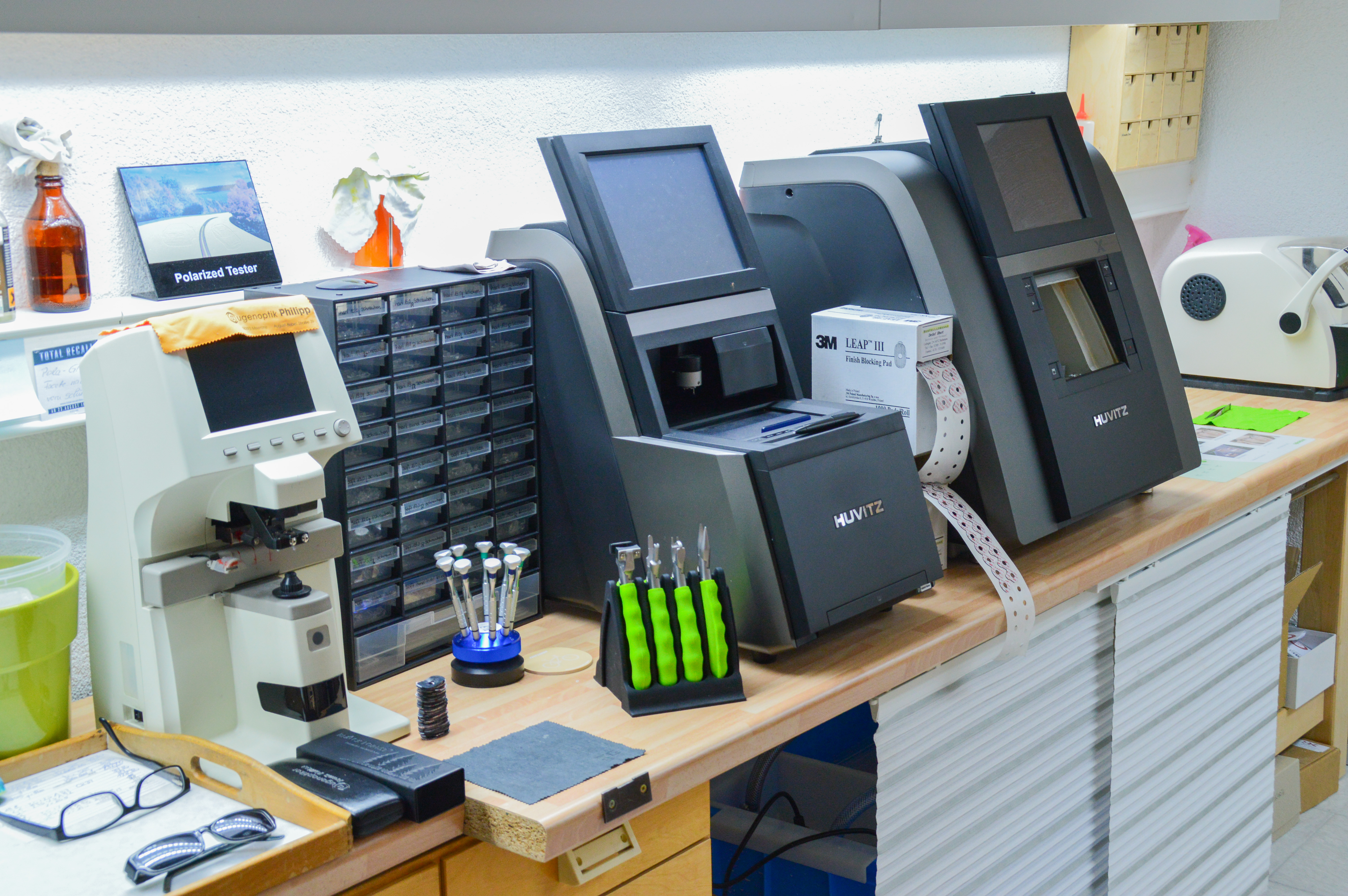 Optiker Philipp – Unsere Werkstatt